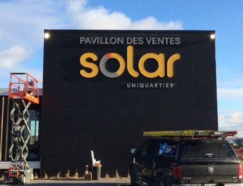 Solar Dix30 – Pavillon des ventes (2017)